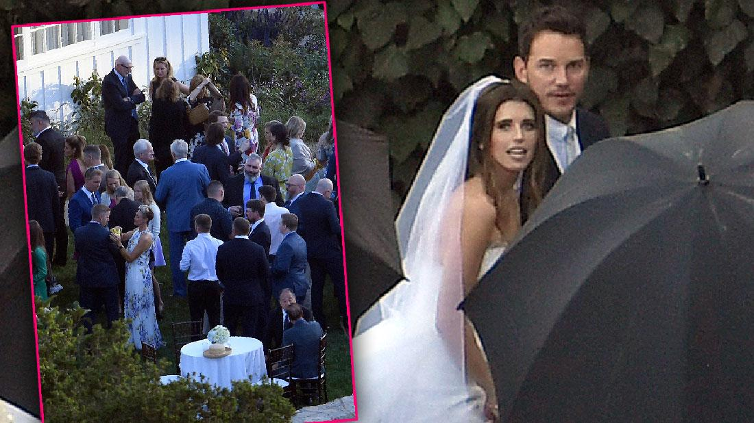 Chris Pratt And Katherine Schwarzenegger Wedding Photos Revealed