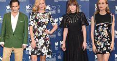 celebrities venice film festival photcall premiere 72nd