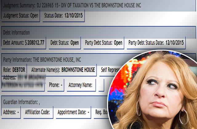//caroline manzo al manzo brownstone debt tax lien complaint rhonj pp