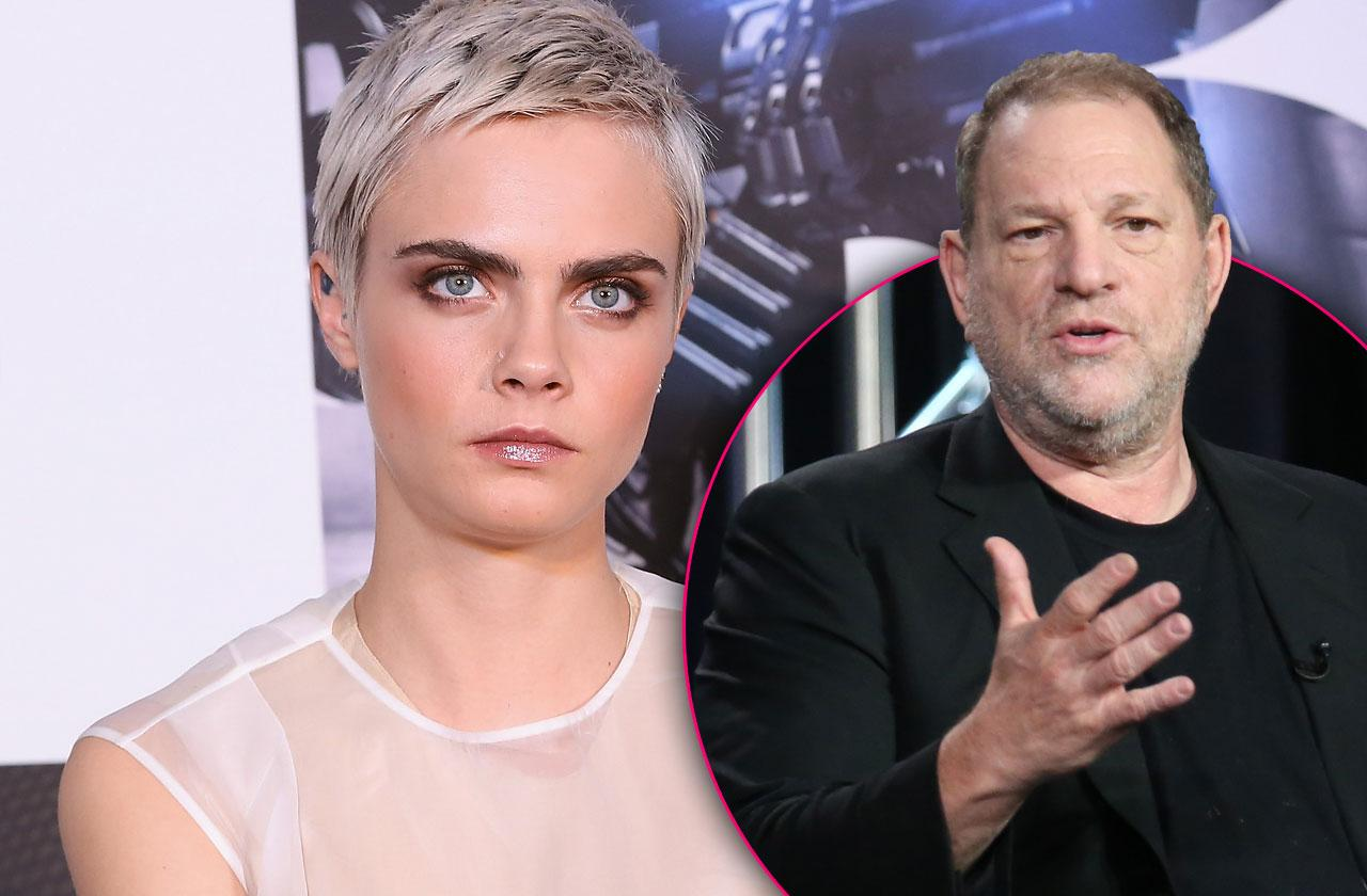 //Harvey Weinstein Sexually Harassed Cara DeLevingne pp