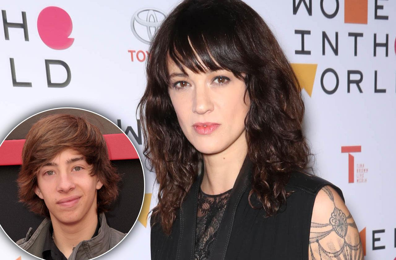 Asia Argento Claims Jimmy Bennett Sexually Attacked Her