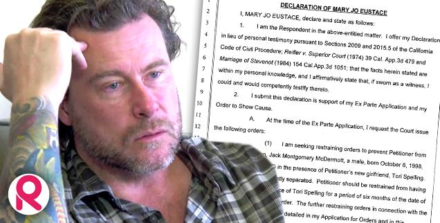 //dean mcdermott ex wife mary jo eustace divorce beat dog cocaine addiction wide