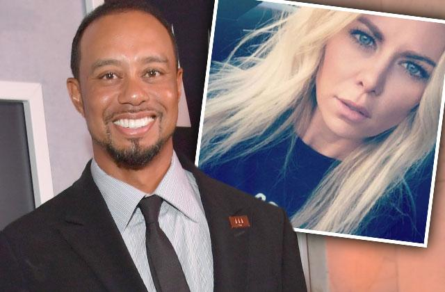 //tiger woods new girlfriend debut