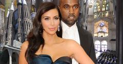 //kim kardashian and kanye west la sagrada familia