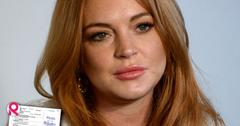 //company suing lindsay lohan slams her miscarriage excuse square