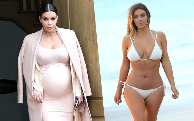 Kim Kardashian Baby Weight