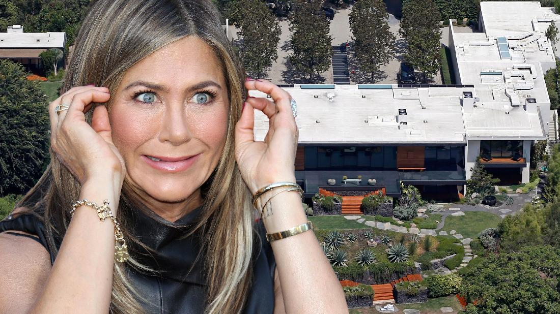 Jennifer Aniston Shows Off Bel Air Home After Knife Claim