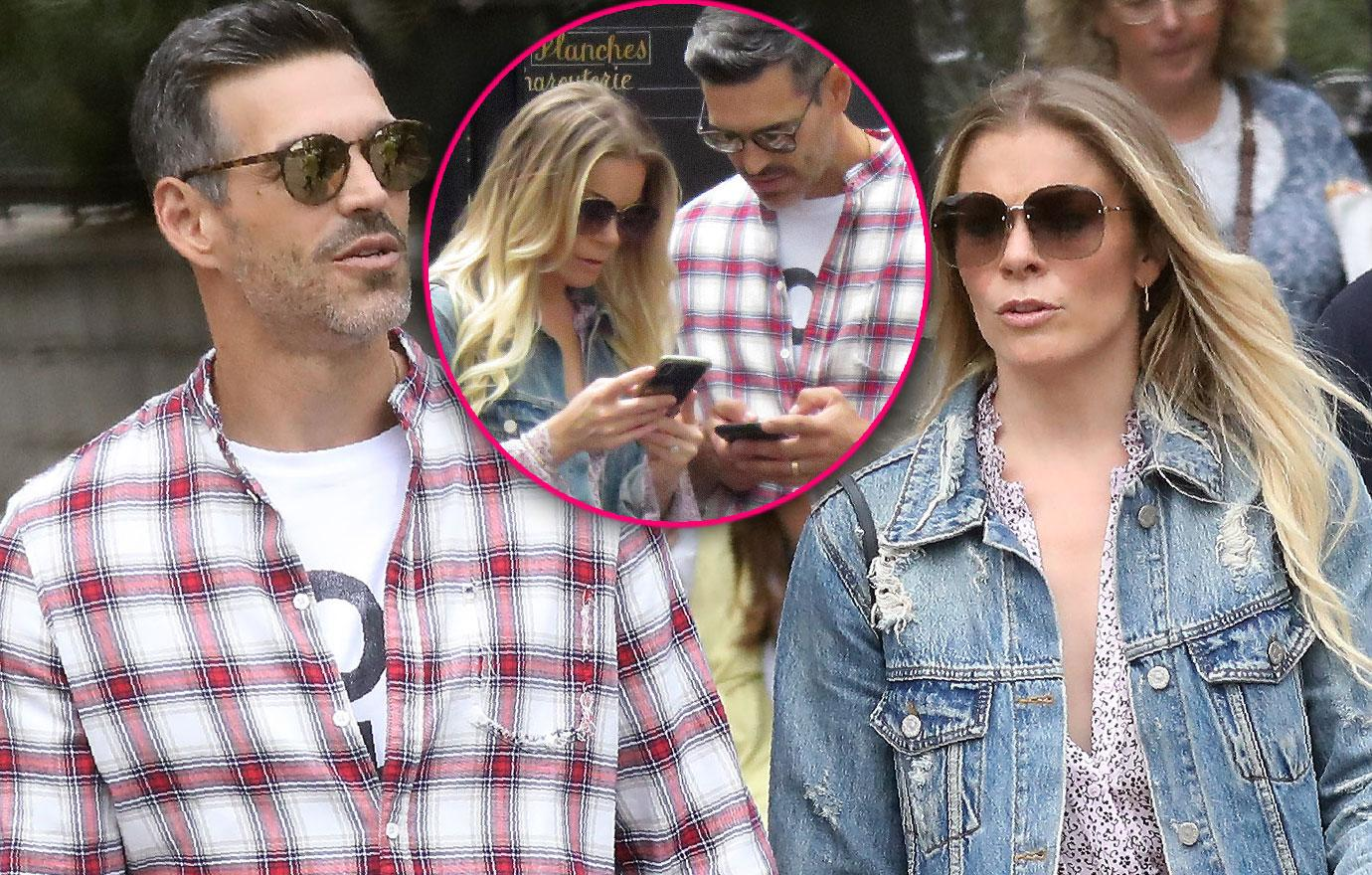 LeAnn Rimes And Eddie Cibrian Hold Hands In Paris Turning 36 No Baby