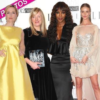 //elle style awards sarah burton rosie huntington whiteley