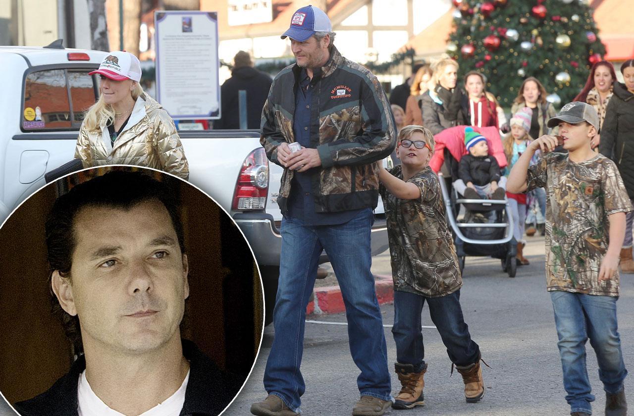 Blake Shelton guns Gwen Stefani kids