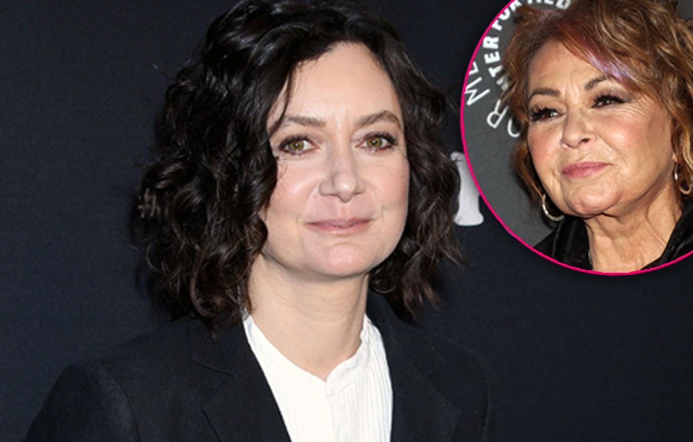 //Roseanne cancelled sara gilbert never work roseanne barr again PP
