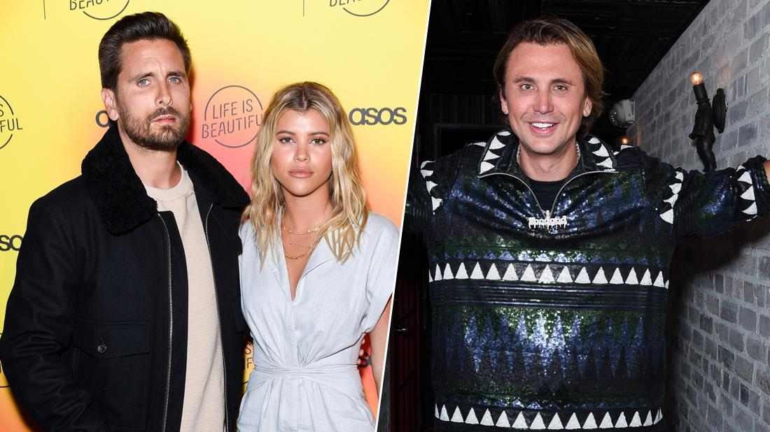 Jonathan Cheban Scott Disick Skip Kardashian Family Party