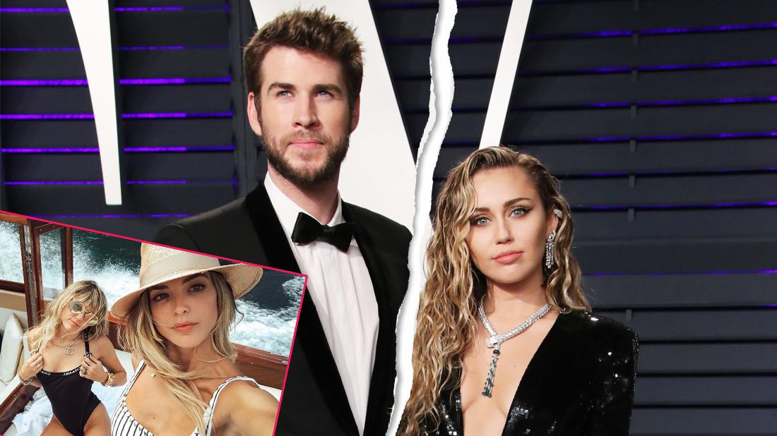 Liam Hemsworth and Miley Cyrus Saint Laurent Show, Arrivals, Spring Summer 2020, Los Angeles, USA
