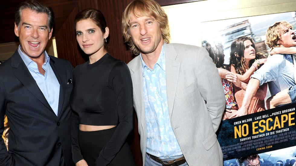 Lake Bell Owen Wilson Pierce Brosnan No Escape Red Carpet Photos