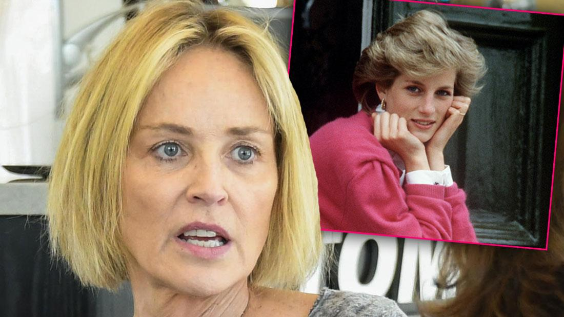 Sharon Stone Compares Her Stroke To Princess Diana's Death