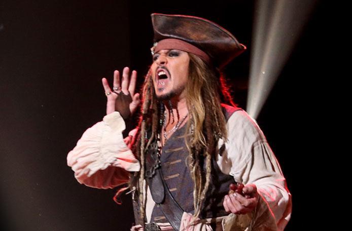 //johnny depp pirates movie comeback pp