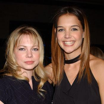 Katie Holmes and Michelle Williams