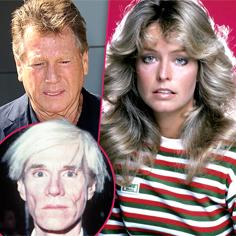 //farrah fawcett andy warhol paintings dont let ryan oneal take them