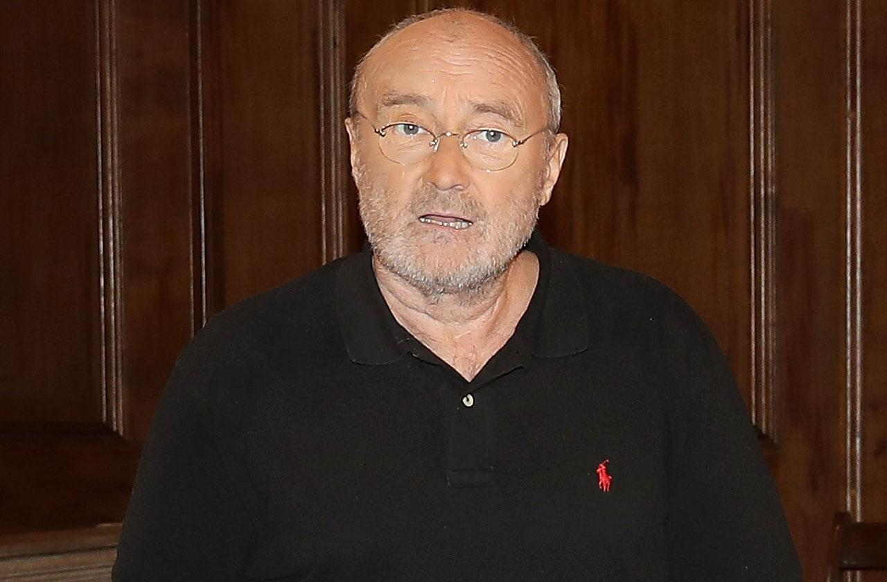 Phil collins relapse fall cancels london shows