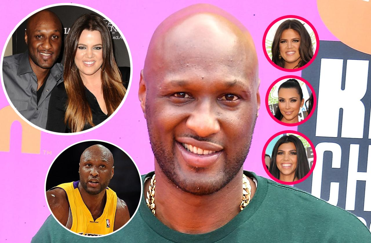 Scandals and drama surrounding Lamar Odom and his relationship with Khloe Kardashian, Kim and Kourtney, as well as his basketball career