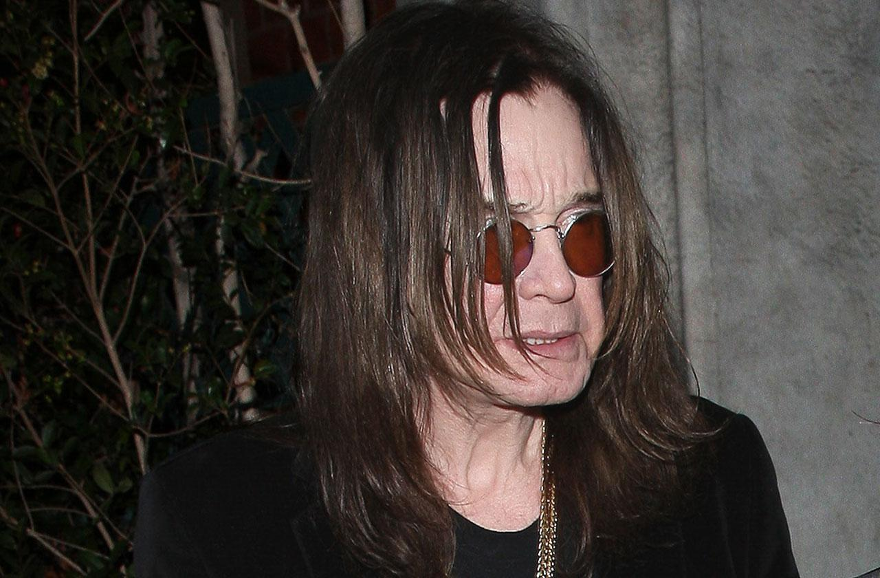 Ozzy Osbourne Cancels Tour Dates Health Crisis Hospital
