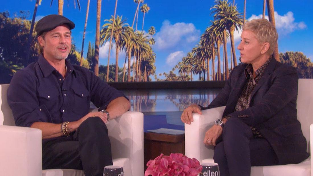 Ellen DeGeneres Reveals She Dated Brad Pitt's Ex-Girlfriend