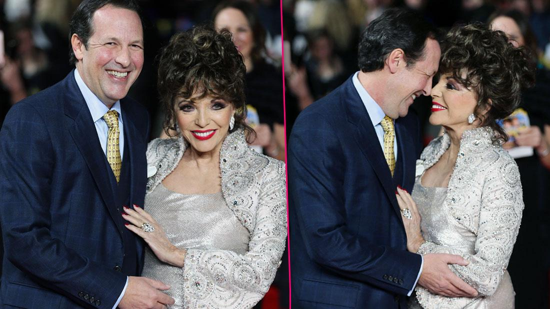 Aging 'Dynasty' Diva Joan Collins Still Keeps Hubby Busy In Bed!