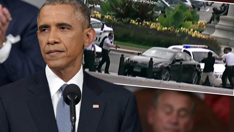 President Obama Car Chase
