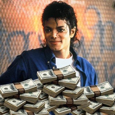 //michael jackson rich dead celebrity wenn