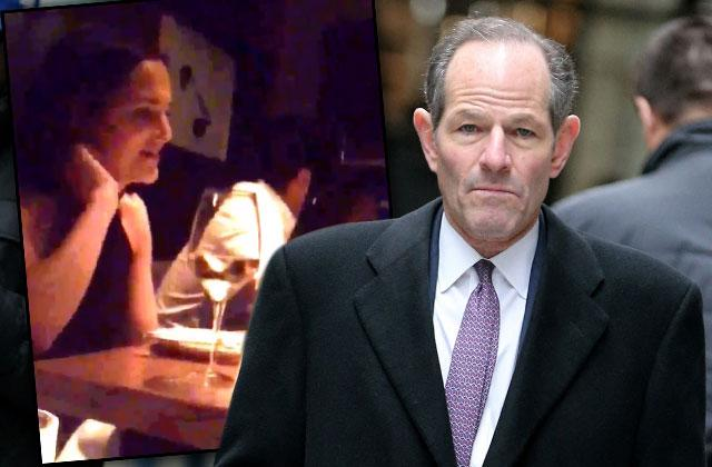 Luv Guv Eliot Spitzer Caught Fighting With Ex