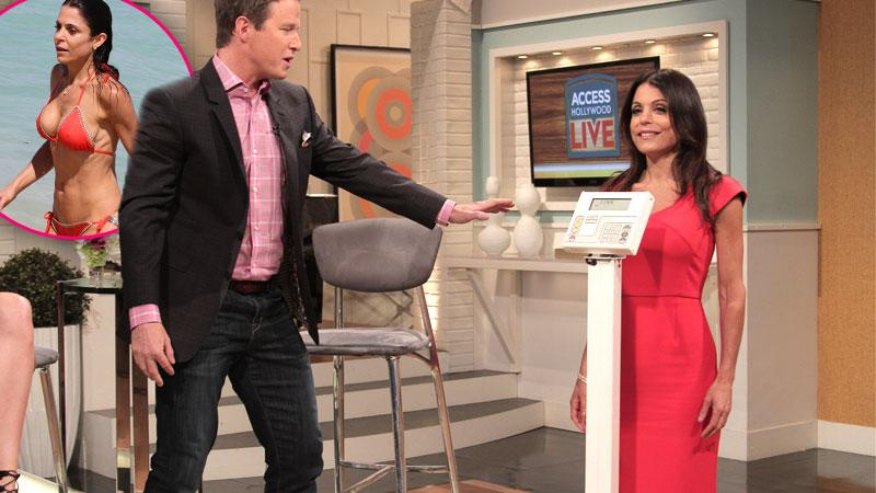 Bethenny Frankel Reveals Weight On Scale