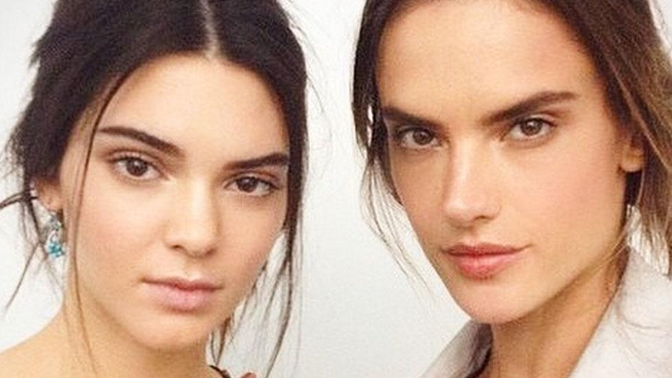 //kendall jenner and alessandra ambrosio pp