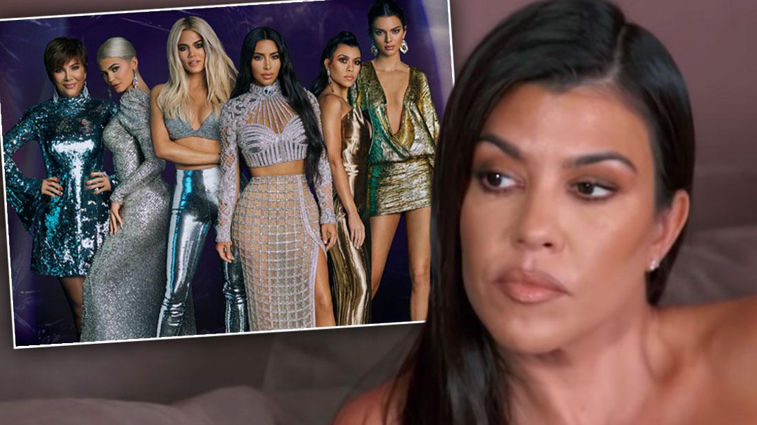 Kourtney Kardashian Admits She Doesn't Care If 'KUWTK' Ends