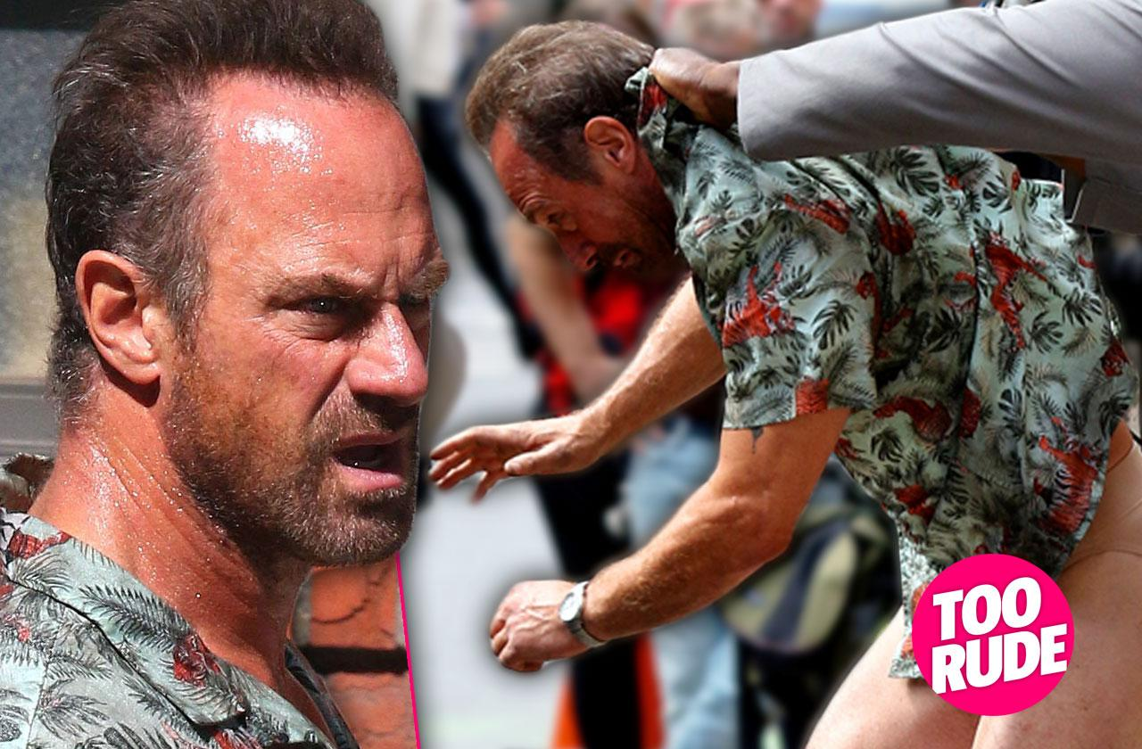 Christopher Meloni Caught With His Pants Down!