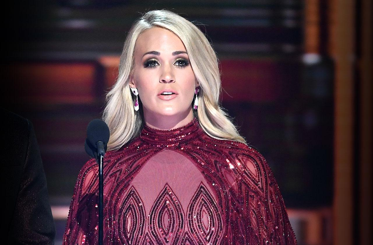 //carrie underwood face appearance stitches fall pp