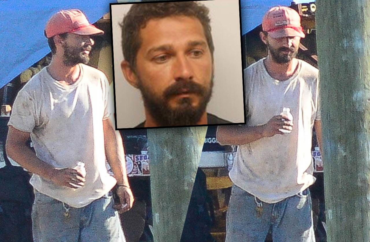 //Shia Labeouf back after arrest pp