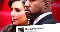 //kim kardashian kanye west not married twitter sq