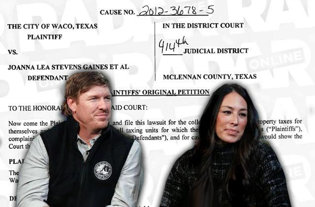 Joanna & chip Gaines Sued By City of Waco For Unpaid Taxes