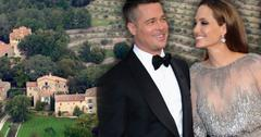 //angelina jolie brad pitt wed in france
