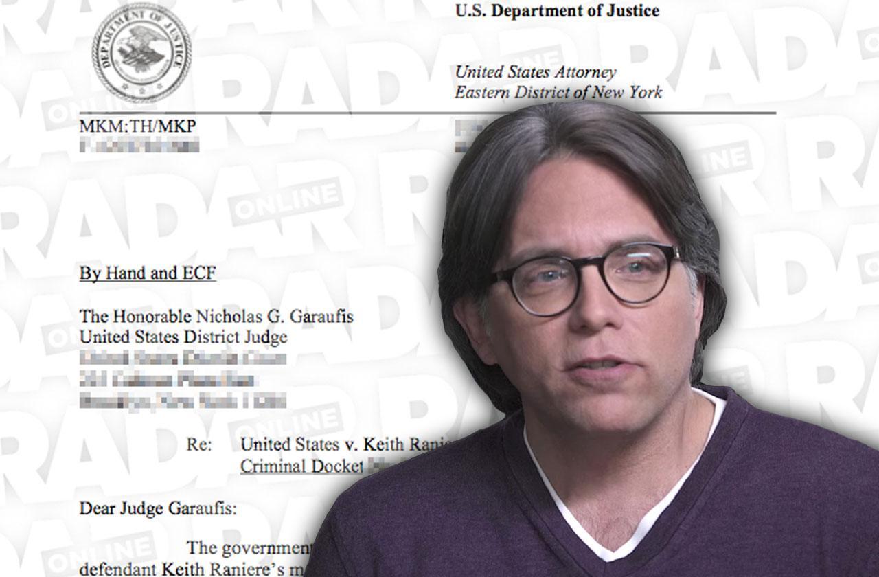 //NXIVM Sex Cult Leader Keith Raniere Accused Trafficking  Slaves pp