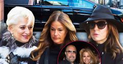 //Bobby Zarin funeral arrivals bethenny pp