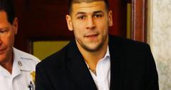 Aaron Hernandez Prison Guest Log Reveals Visits From 'Super Close' Male Friend