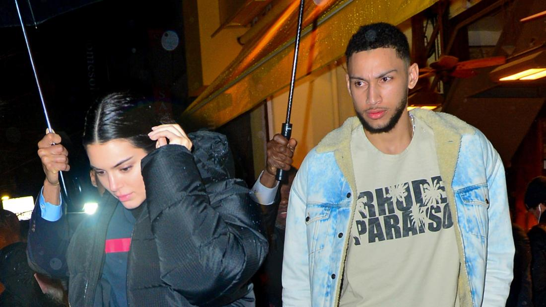 Kendall Jenner Hangs Out With Ben Simmons In New York