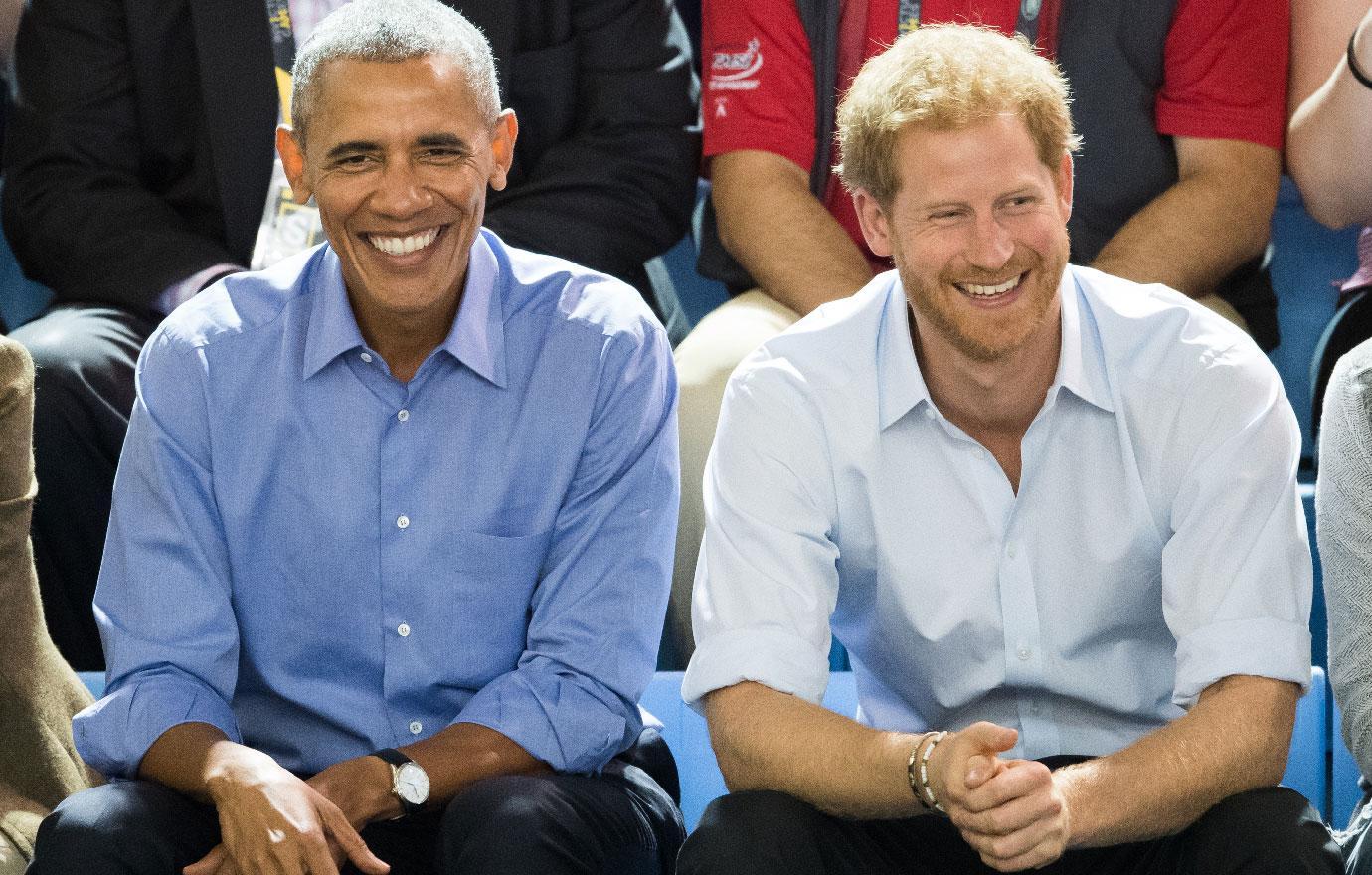 prince harry bromance with barack obama