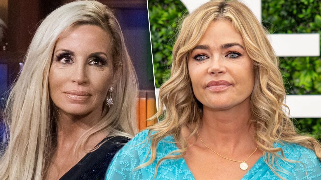 Camille Grammer Defends Divorce Settlement To Denise Richards