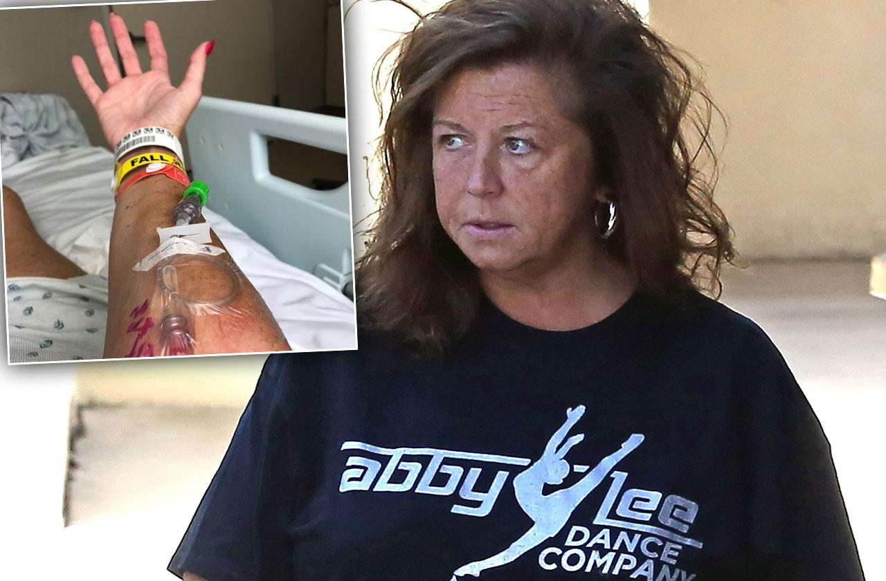 Abby Lee Miller Emergency Surgery Cancer