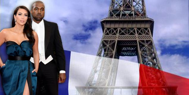 //kanye west trying to bully french government