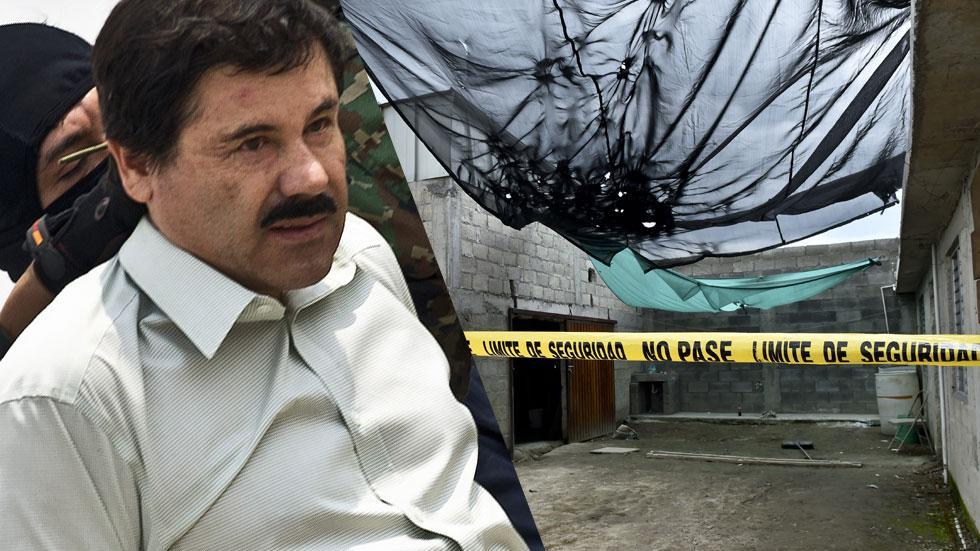 El Chapo Tunnel Photos