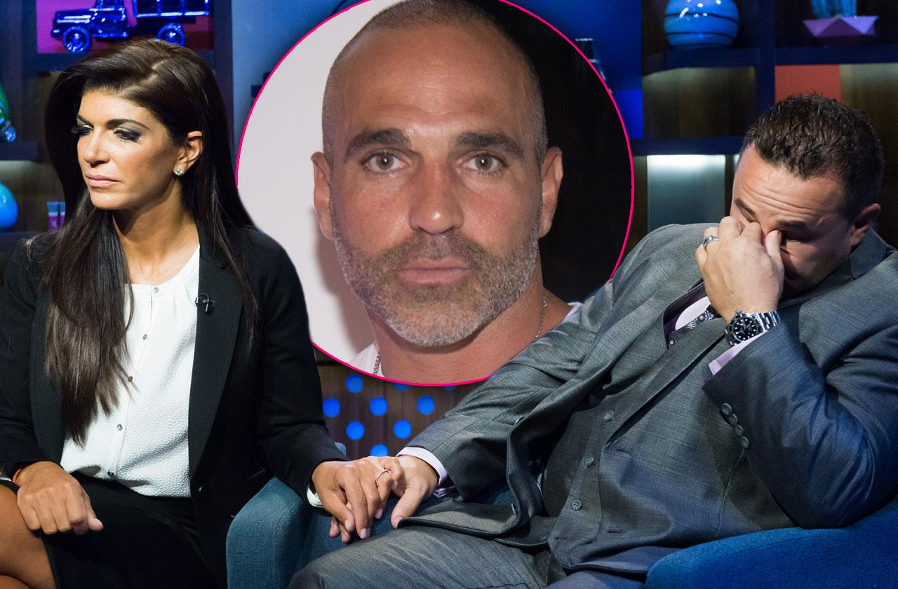 Teresa Giudice No Choice Divorce Husband Joe Gorga