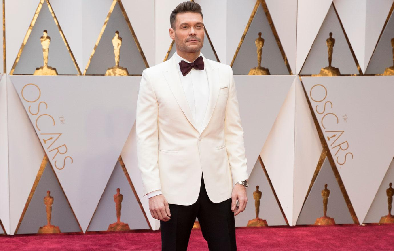 //ryan seacrest protected at oscars amid sex scandal pp